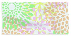 Pretty Pastels Bath Towel by Inspired Arts