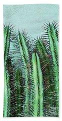 Prick Cactus Bath Towel