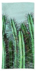 Prick Cactus Bath Towel