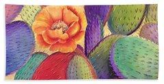 Prickly Rose Garden Hand Towel