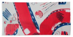 Pride - Glory - The Patriots Hand Towel