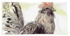 Pride Of A Rooster Hand Towel
