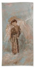Priest Angel Hand Towel