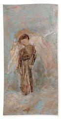Priest Angel Bath Towel