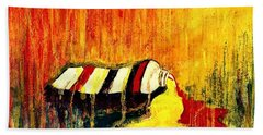 Primary Colors  Hand Towel