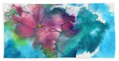 Primrose Hand Towel by Joan Hartenstein