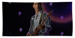 Prince At Coachella Hand Towel