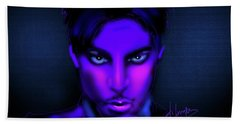 Prince Hand Towel by DC Langer