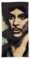 Prince Illustration Hand Towel