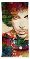 Prince Hand Towel by Mihaela Pater