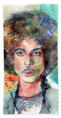 Prince Rogers Nelson Young Portrait Hand Towel