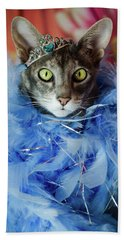 Princess Cat Hand Towel
