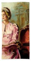 Princess Diana The Peoples Princess Hand Towel by Carole Spandau