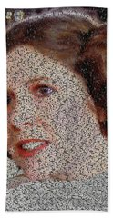 Princess Leia Quotes Mosaic Hand Towel