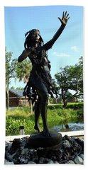 Princess Ulele Statue Bath Towel