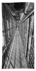 Prison Cell Walkway Bath Towel
