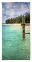 Private Out Island In The Bahamas Hand Towel