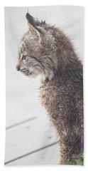 Profile In Kitten Bath Towel