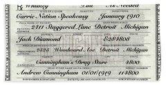 Prohibition Prescription Certificate Carrie Nation Speakeasy Bath Towel