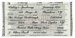 Hand Towel featuring the photograph Prohibition Prescription Certificate Speakeasy by David Patterson