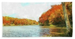 Promise Of Autumn Hand Towel