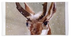 Pronghorn Bath Towel