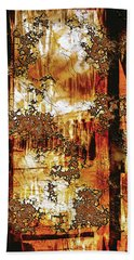 Hand Towel featuring the digital art Prophecy by Paula Ayers