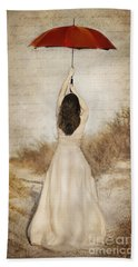 Protection Painted Lady Hand Towel