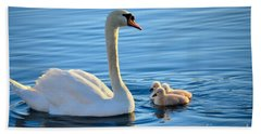 Proud Mother Bath Towel by Deb Halloran