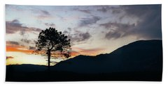 Provence, France Sunset Hand Towel