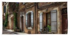 Provence Street Scene Hand Towel