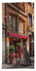 French Cafe Hand Towel