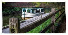 Providence Metropark Erie Canal  Hand Towel
