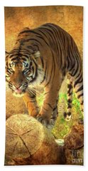 Prowling Tiger Hand Towel