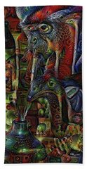 Psychedelic Visions Hand Towel