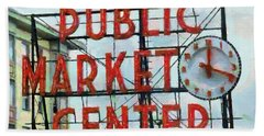 Public Market Center Hand Towel