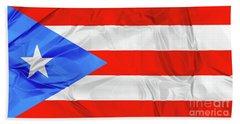 Puerto Rico Flag Bath Towel