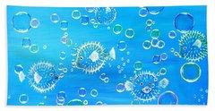 Pufferfish Playtime Hand Towel