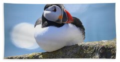 Puffin Time Bath Towel