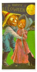 Pumpkin Dance Hand Towel