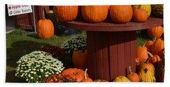 Pumpkin Display Hand Towel