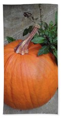 Pumpkin Bath Towel