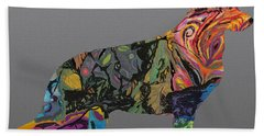 Bath Towel featuring the digital art Pure Emotion Gsd by Ania M Milo