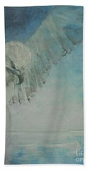 Bath Towel featuring the painting Pure Spirit by Jane See