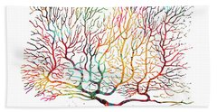 Purkinje Neuron 15 Bath Towel