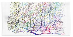 Purkinje Neuron 16 Bath Towel