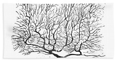 Purkinje Neuron 17 Bath Towel