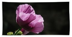 Bath Towel featuring the photograph Purple Blessing by Evelyn Tambour