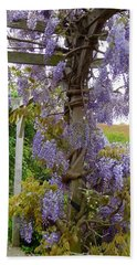 Purple In Priory Park Bath Towel