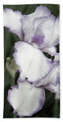 Purple Is Passion Hand Towel by Sherry Hallemeier